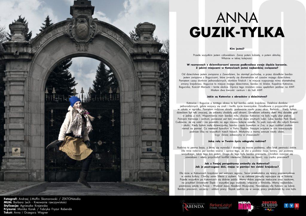 Anna Guzik - 150 twarzy