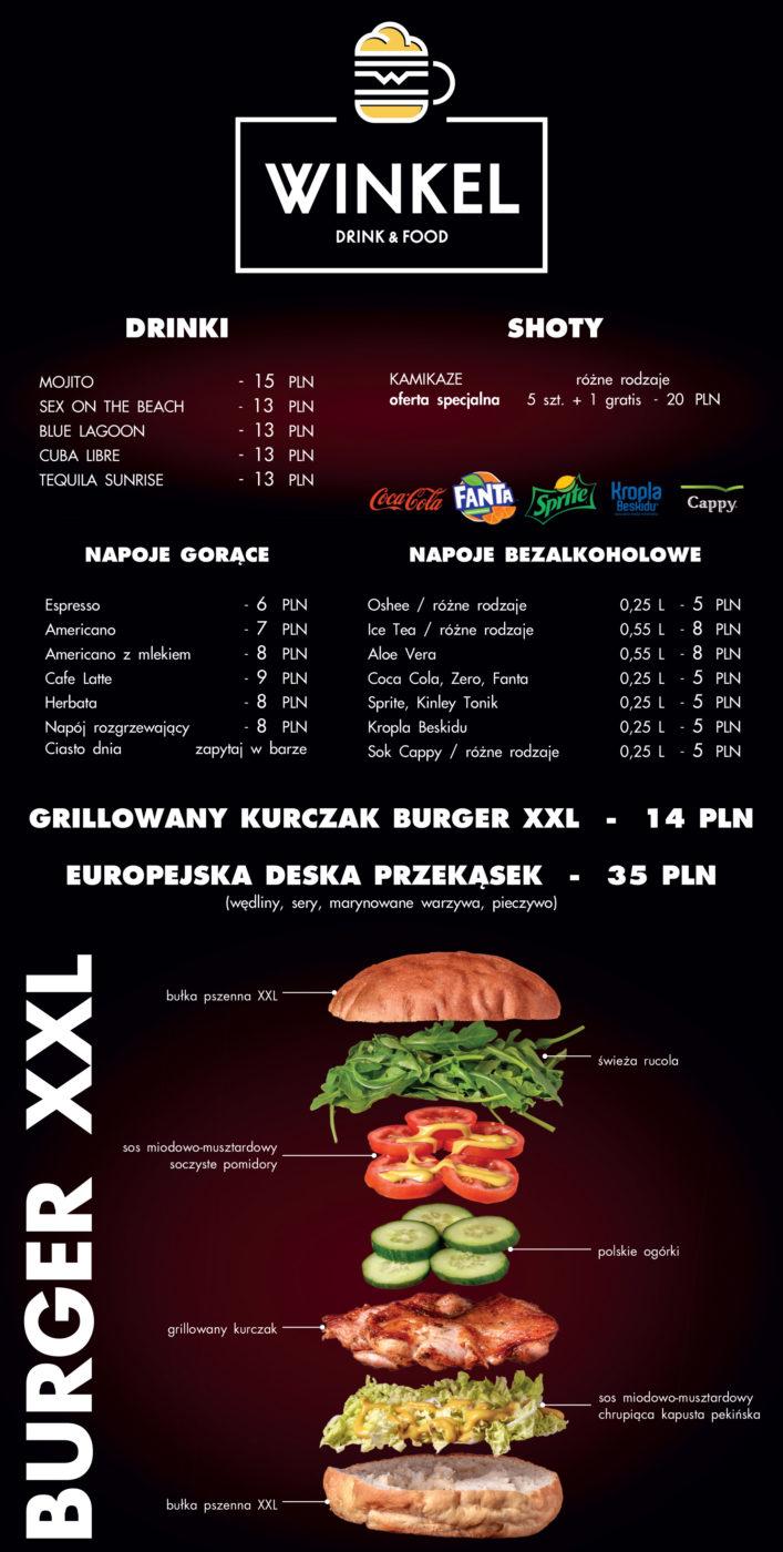 Winkel menu